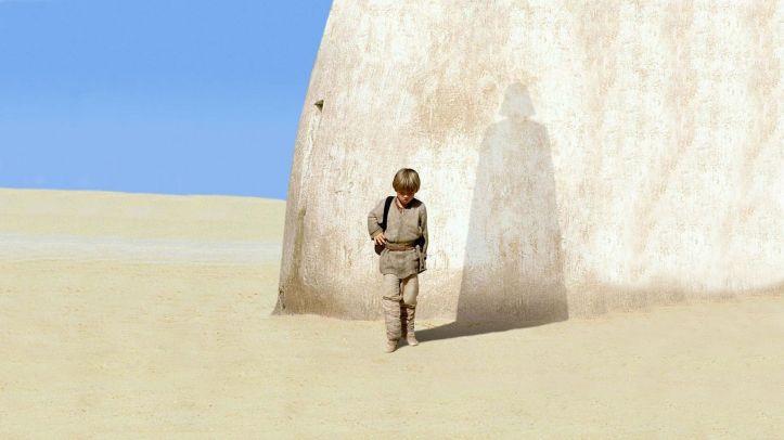 Vader's shadow